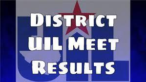 HS UIL Meet Results