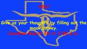 Spring Mask Survey 2021