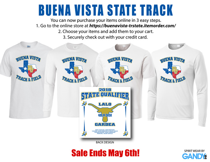 State Track Shirts