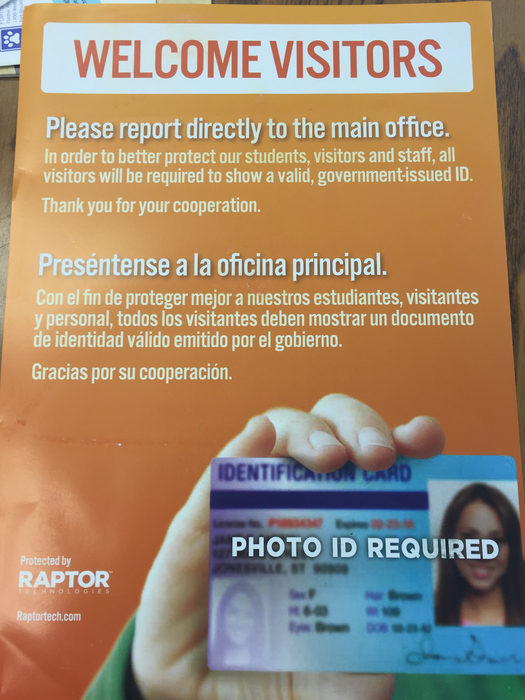 Photo ID will be required.