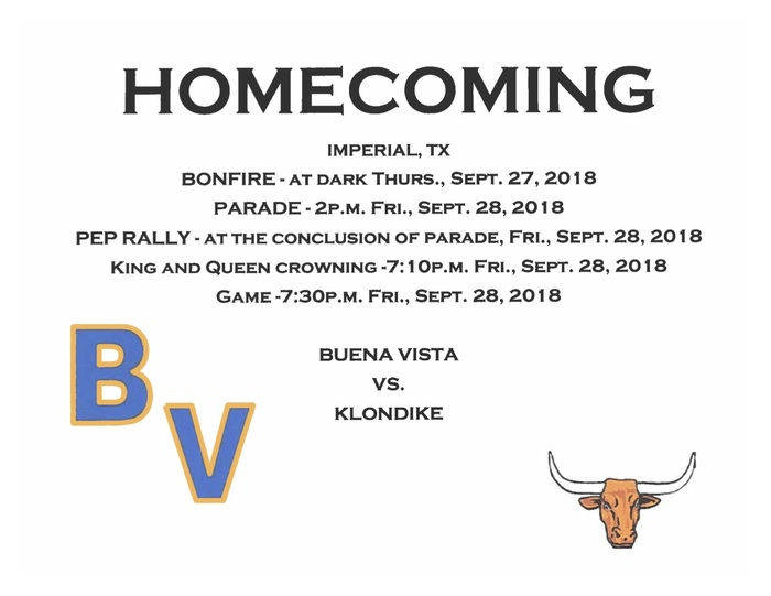 Homecoming 2018 Information
