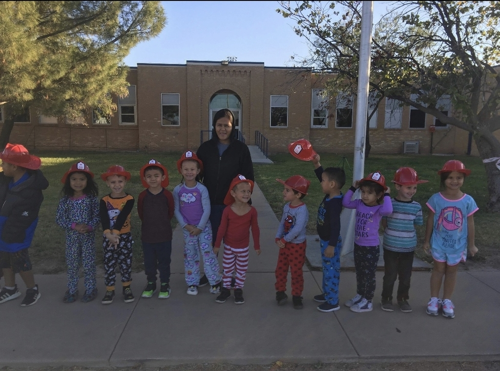 Our PK students are excited for the fire truck.