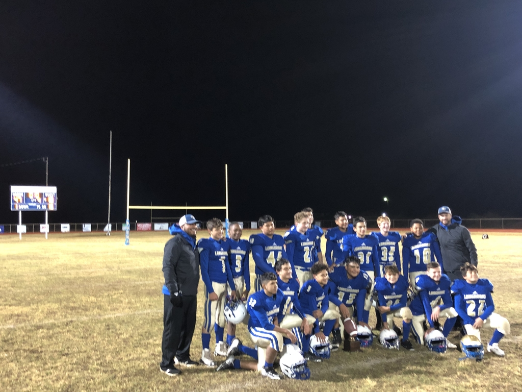 JH Football District Champs!